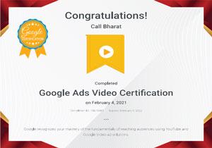 googleadsvideocertification